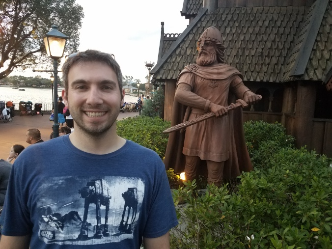 At the Norwegian Village, Epcot
